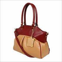 Ladies Synthetic Leather Handbags