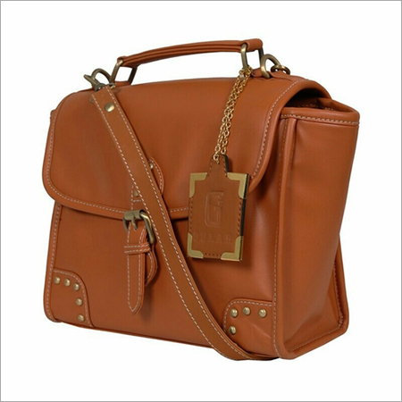 Synthetic Leather Cross Body Bag