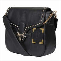 Black Cross Body Leather Bags