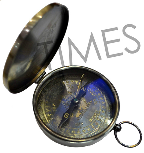 Nautical Compass Locket