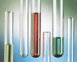 TEST TUBE WITH/WITHOUT RIM BOROSILICATE GLASS MACHINE MADE