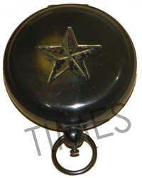 Antique Star Pocket Compass