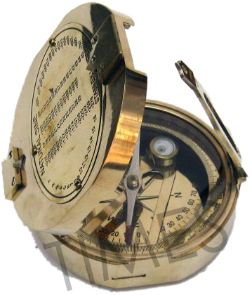 Nautical Brunton Compass