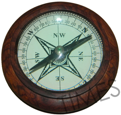 Crafted Nautical Compass