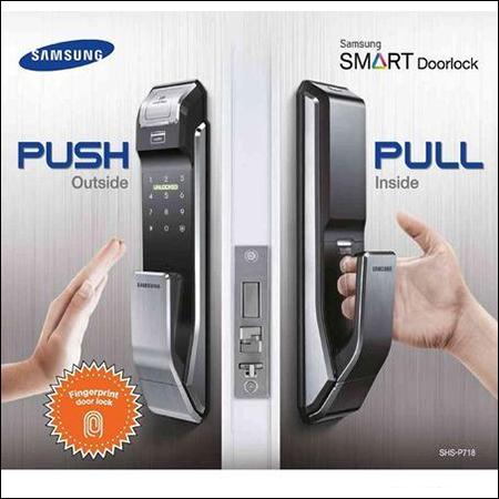 Pushpull Digital Door Lock
