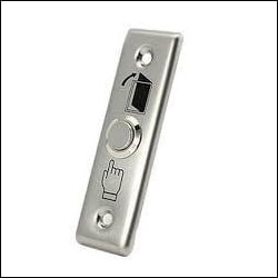 Stainless Steel Push Button Exit Switches