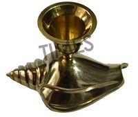 Antique  Brass Candle Stand