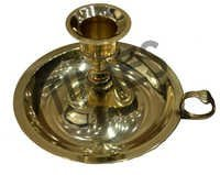 Designer Brass Candle Stand