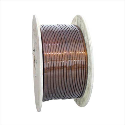 Enamelled Rectangular Flat Aluminium Strips