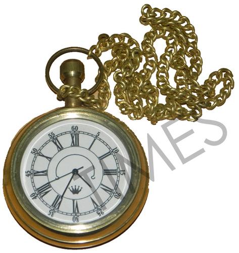 Brass Pocket Clock