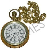 Brass Pocket Clock