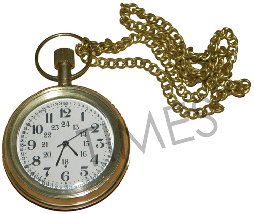 Nautical Brass Pocket Watch