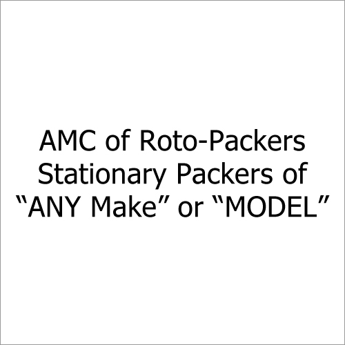 AMC of Roto-Packers, Stationay Packers of ANY Make