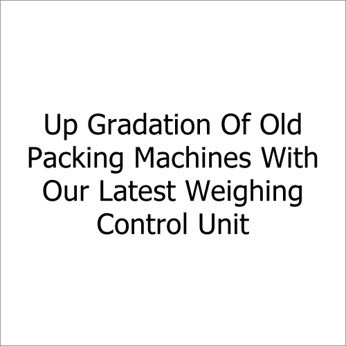 Old Packaging Machine