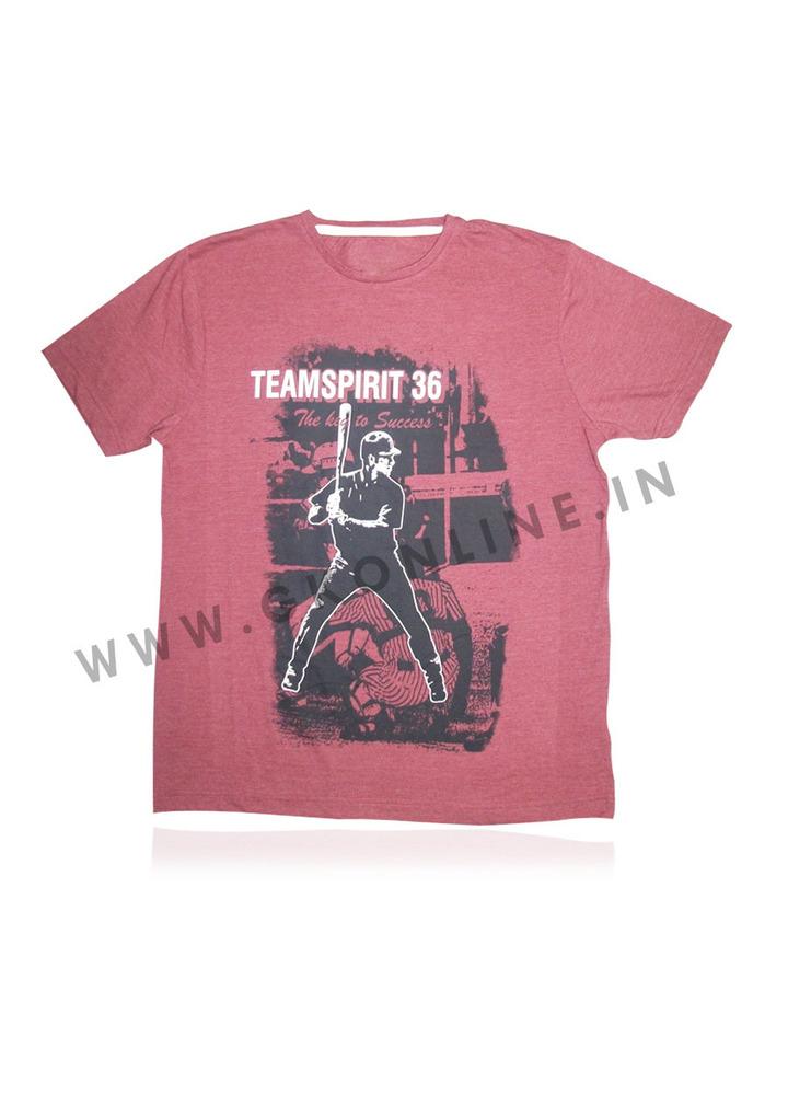 Mens  Printed T-Shirt