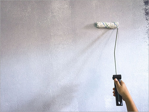 Priming The Wall White