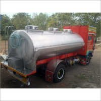Transport Road Milk Tanker