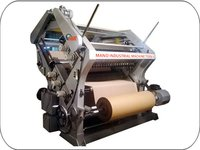 Double Profile Single Face Paper Corrugation Machine