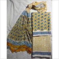 Block Print Cotton Suit
