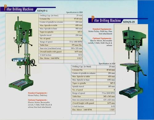 6B Pillar Drill Machine