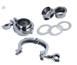 Sanitary Stainless Steel Clamp with Ferrule