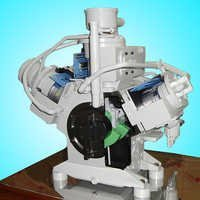 Compressor Cut Section Model
