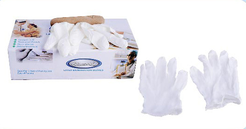 Latex Powdered Examination Hand Gloves