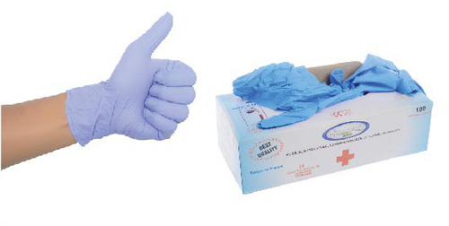 Nitrile Powder Free Examination Hand Gloves
