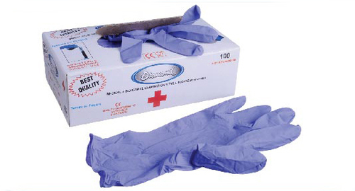 Thick Nitrile Powder Free Examination Hand Gloves