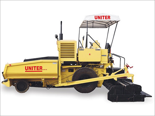 Paver Machines With Hydraulically Extendable Screed