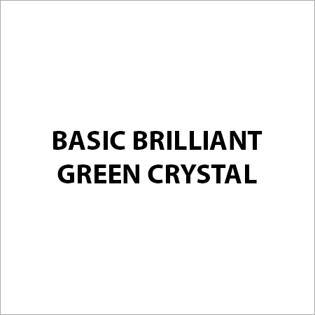 Basic Brilliant Green Crystal