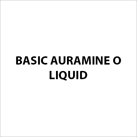 Basic Auramine O Liquid