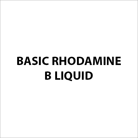 Basic Rhodamine B Liquid