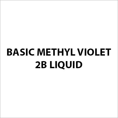Basic Methyl Violet 2B Liquid
