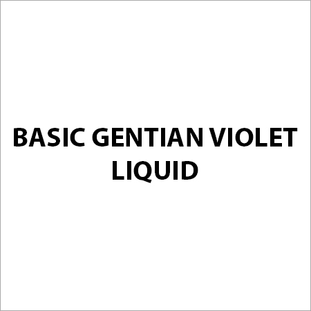 Basic Gentian Violet Liquid