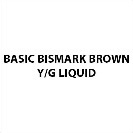 Basic Bismark Brown Y G Liquid