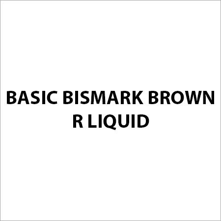 Basic Bismark Brown R Liquid