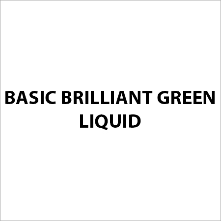 Basic Brilliant Green Liquid