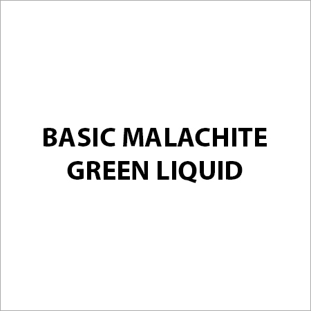 Basic Malachite Green Liquid