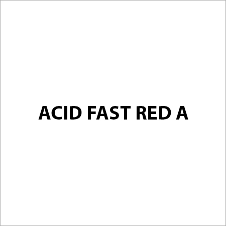 Acid Fast Red A