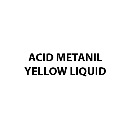 Acid Metanil Yellow Liquid