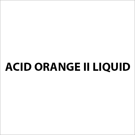 Acid Orange II Liquid