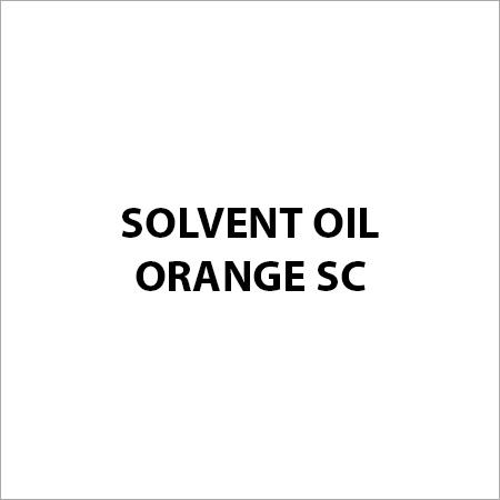 Solvent Oil Orange SC