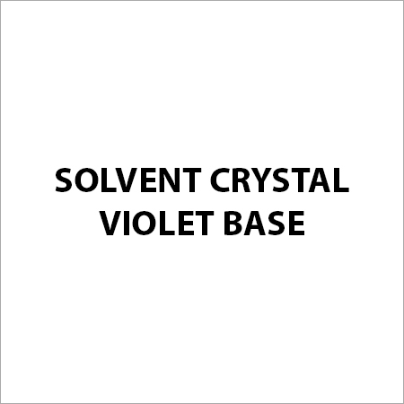Solvent Crystal Violet Base