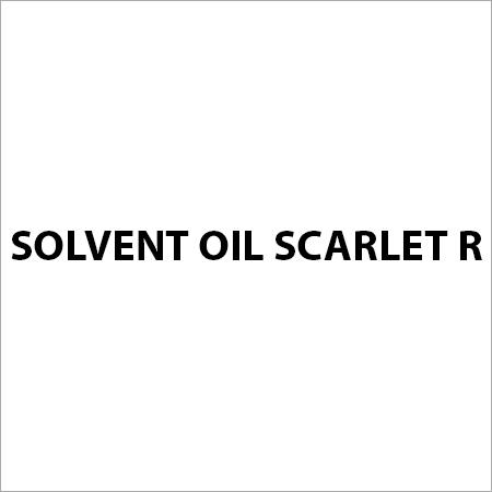 Solvent Oil Scarlet R