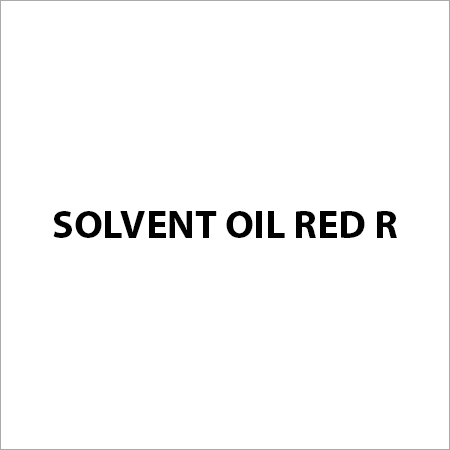 Solvent Oil Red R