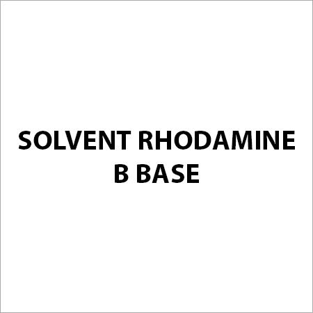 Solvent Rhodamine B Base