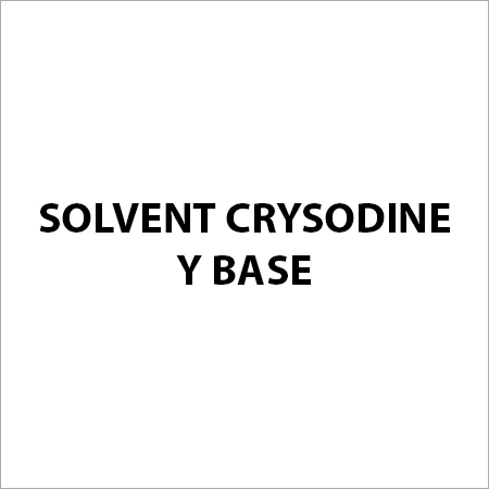 Solvent Crysodine Y Base