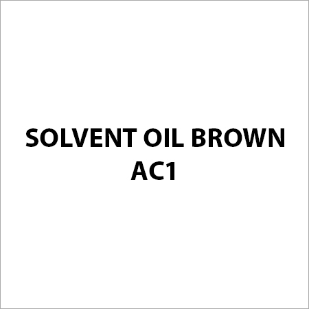 Solvent Oil Brown AC1