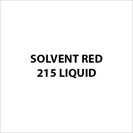 Solvent Red 215 Liquid
